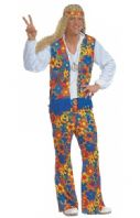 70's Hippie Man Costume  (3125)